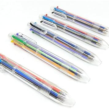10 Farbe in 1 Schreibwaren Stift Mehrfarbig Büro Kugelschreiber Kinder GeschenkW