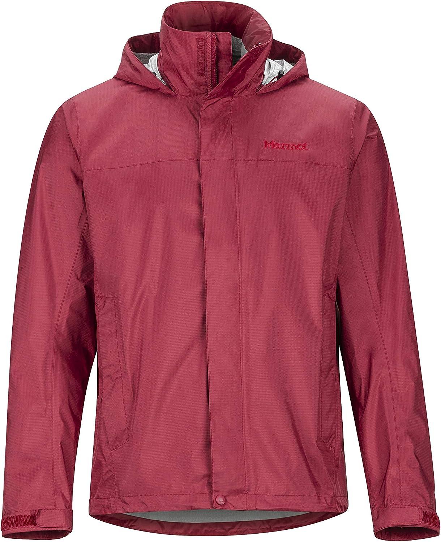 Windproof Black Breathable Waterproof XXL Raincoat Hardshell Rain Jacket Marmot Mens PreCip Eco Jacket 2019 version