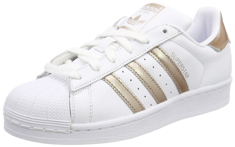 Adidas Superstar, Zapatillas para Mujer 37 1/3 EU|Blanco (Ftwr White/Cyber Met./Ftwr White 001)