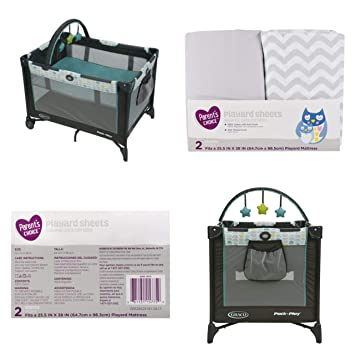 Amazon Com Graco Pack N Play On The Go Playard With Bassinet