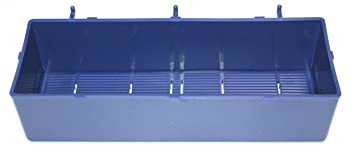 BLUE Parts Storage Bins Hooks To Peg Tool Board   Workbench