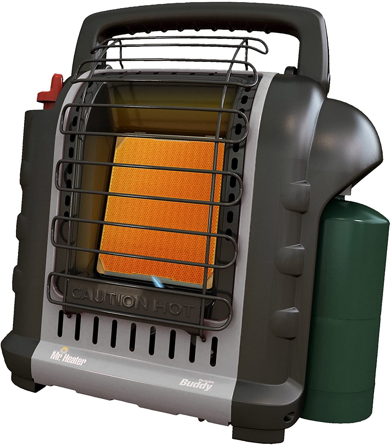 Mr Heater F232017 MH9BXRV Buddy Grey Indoor-Safe Portable RV Radiant Heater