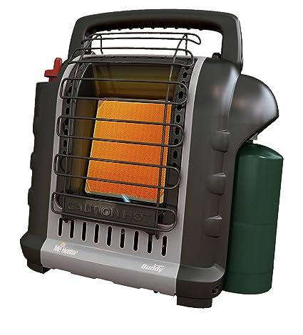 Propane Radiant Heater >> Amazon Com Mr Heater F232017 Mh9bxrv Buddy Grey Indoor Safe