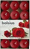 Bolsius 103626944481 Lot De 30 Bougies Chauffe-Plats Parfumées Rose Veloutée