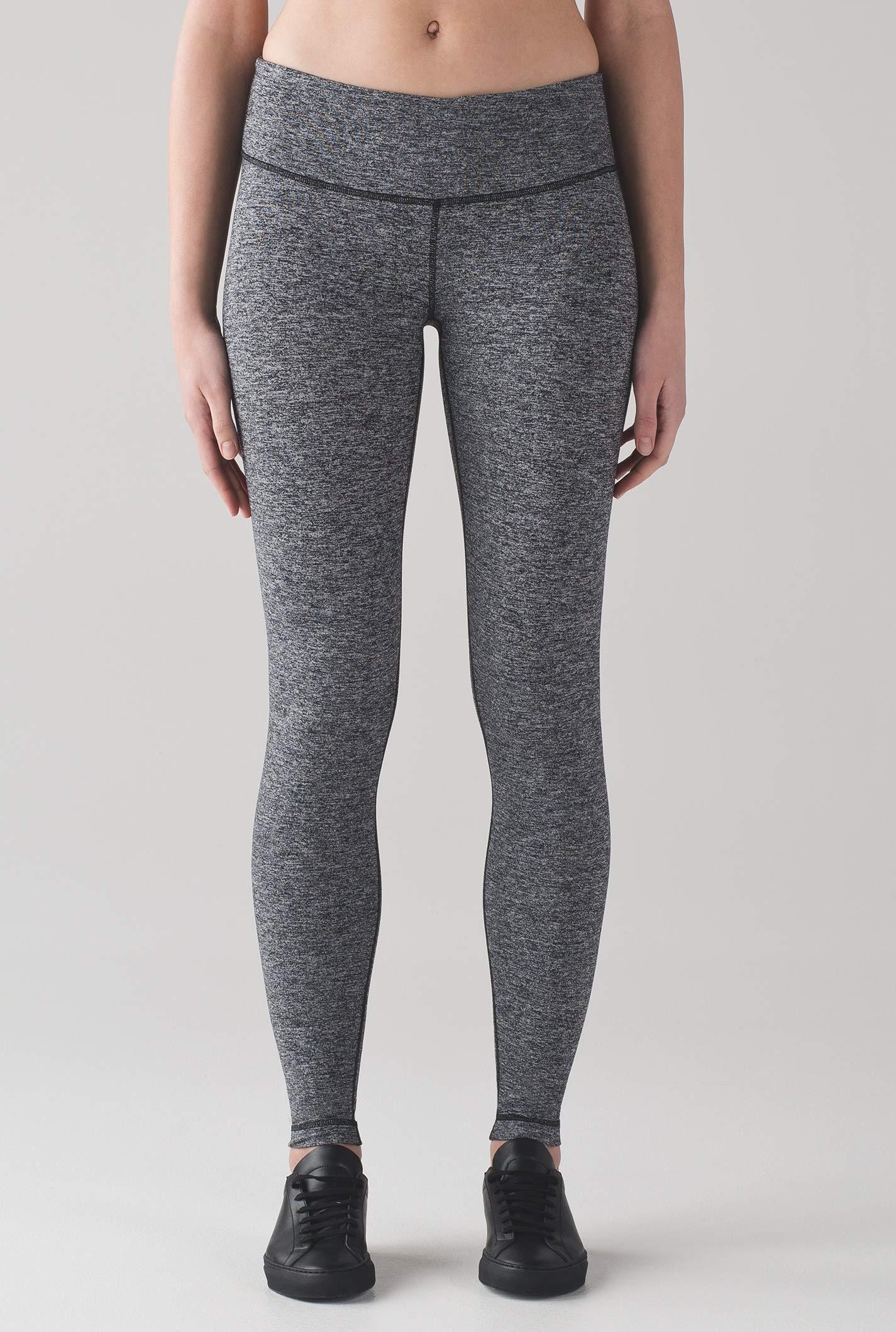 Lululemon Wunder Under Low Rise Tight Yoga Pants (Heathered Black, 12) by Lululemon (Image #3)