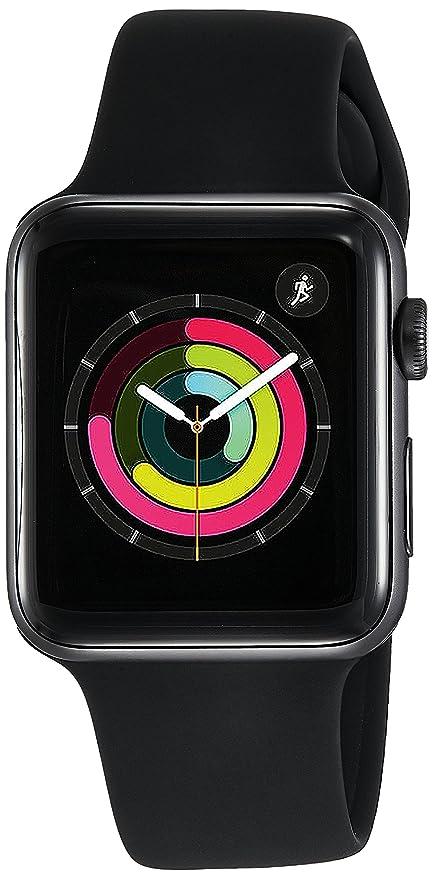 Apple Watch Series 3 GPS 42mm Smart Space Grey Aluminum Case Black Sport