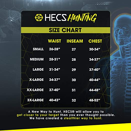 Pants 3 Piece Shirt HECS Suit Base Layer Hunting Suit HeadcoverSm-3X