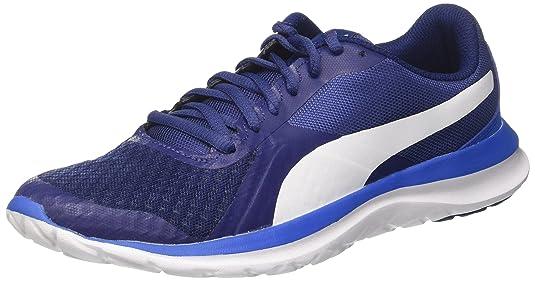Puma Flext1, Scarpe da Ginnastica Basse Unisex-Adulto, Blu (Blue Depths-White-Lapis Blue), 42 EU