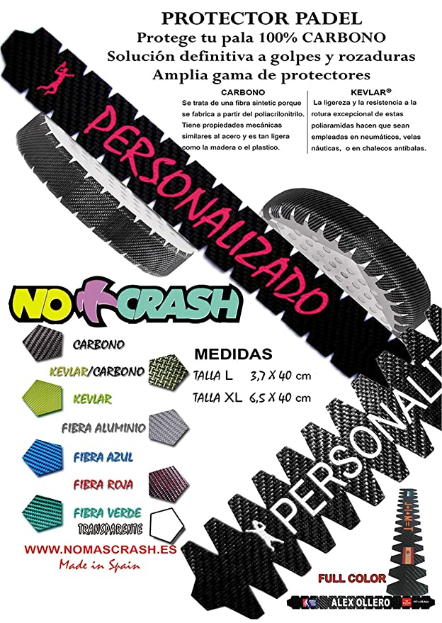 No+Crash - Protector de Pala