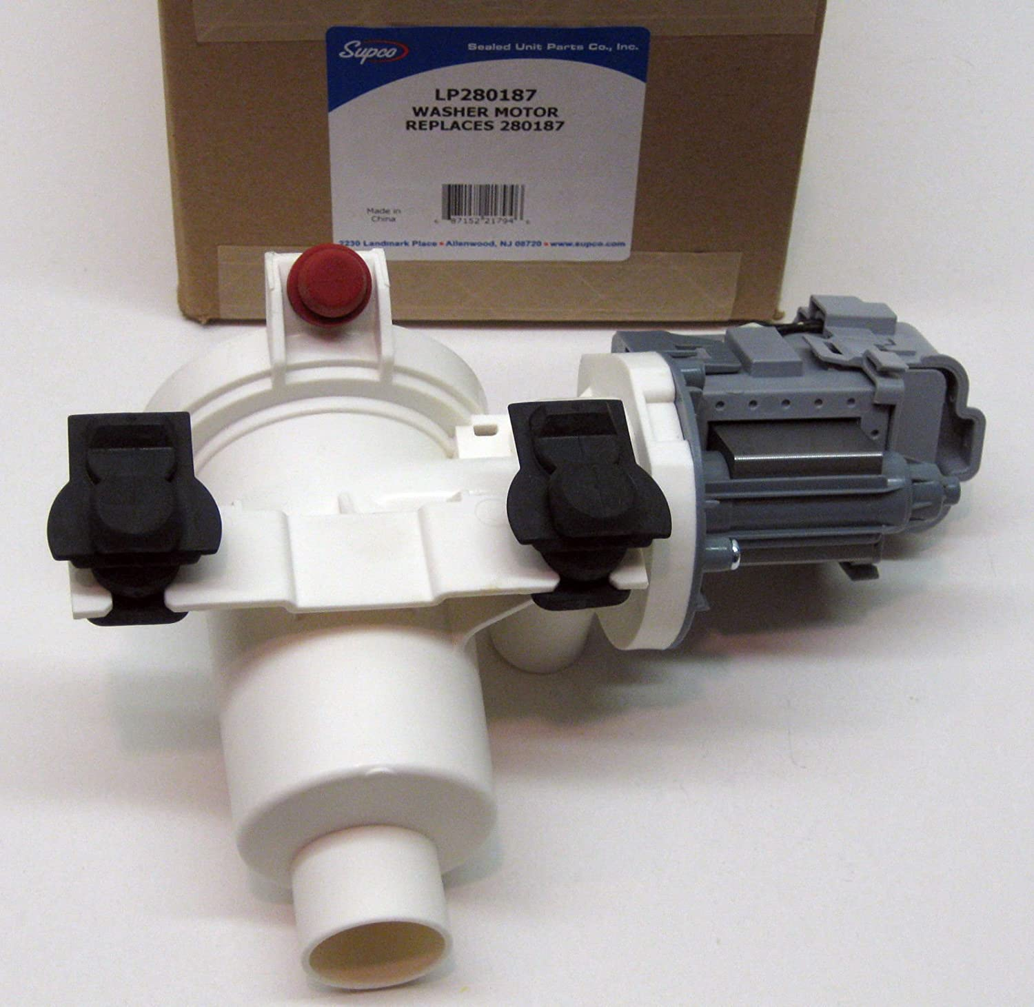 New Washers & Dryers Parts LP-280187 Washer Pump Motor for Whirlpool Kenmore Duet Washing AP3953640