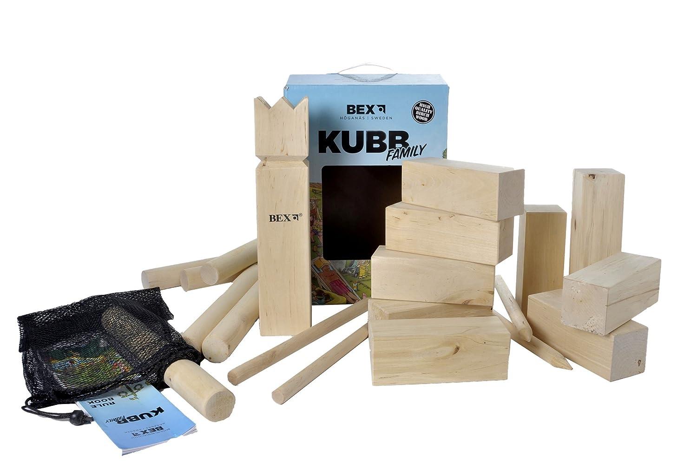 Amazon.com : Bex Sports Kubb Game Original : Lawn Game Equipment ...