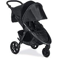 Britax B-Free Stroller, Cool Flow Teal - All Terrain Tires - Adjustable Handlebar - One Hand Fold - Large UV50 Canopy