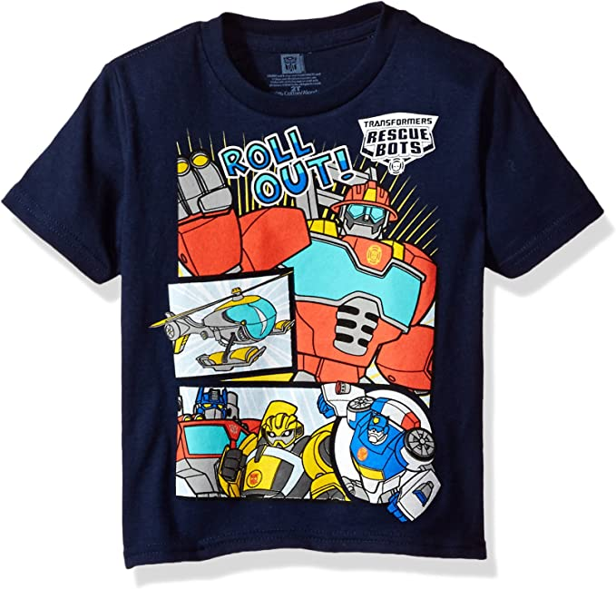 Amazon.com: Transformers - Camiseta de manga corta para niño ...
