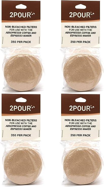 1400 x (4 paquetes) filtros de papel de repuesto reutilizables ...