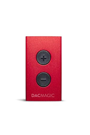 Cambridge DacMagic XS Mini convertidor USB Digital/analógico para Ordenador portátil Rojo: Amazon.es: Electrónica