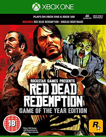 Red Dead Redemption Game Of The Year Classics Xbox 360 Xbox One Compatible Video Games