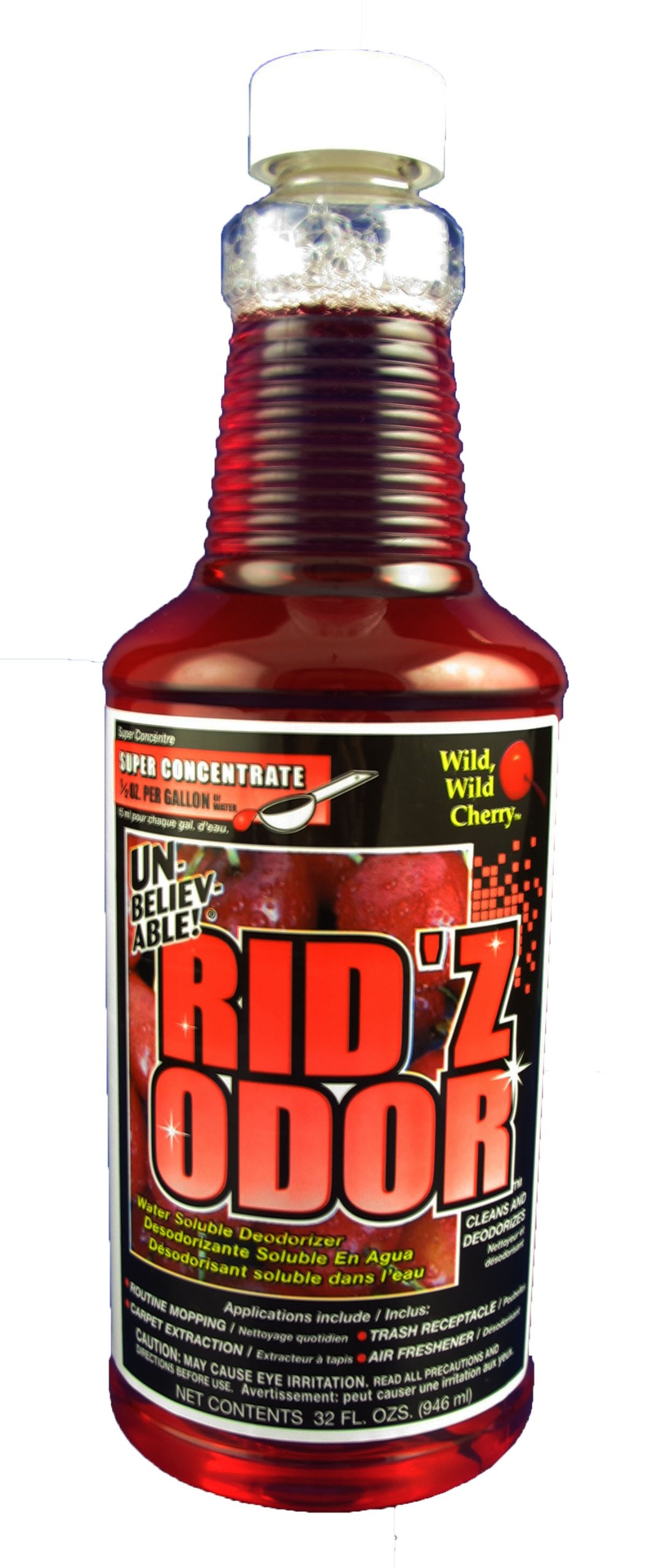 Unbelievable! UKO-503 32 Oz. Rid'z Odor Wild Wild Cherry Super Concentrated Deodorizer (Case of 12) by Core Products Company