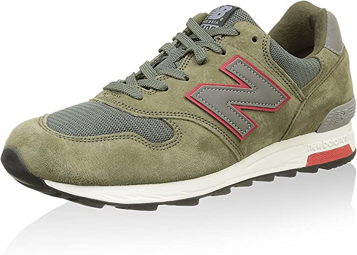 New Balance Mens Connoisseur Authors 1400 Olive with Red M1400HR 8 ...