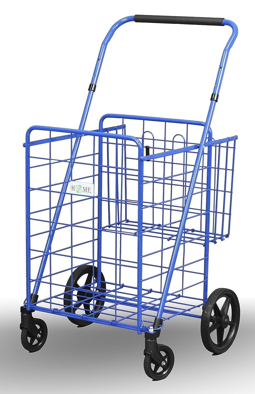 Amazon.com: Uniware 1210-BL carro de compras con cesta ...
