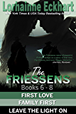 The Friessens Books 6 - 8 (The Friessen Legacy Collections Book 4)
