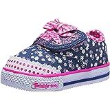 Skechers Kids Shuffles Ditzy Daisy Crib Sneaker (Infant/Toddler)