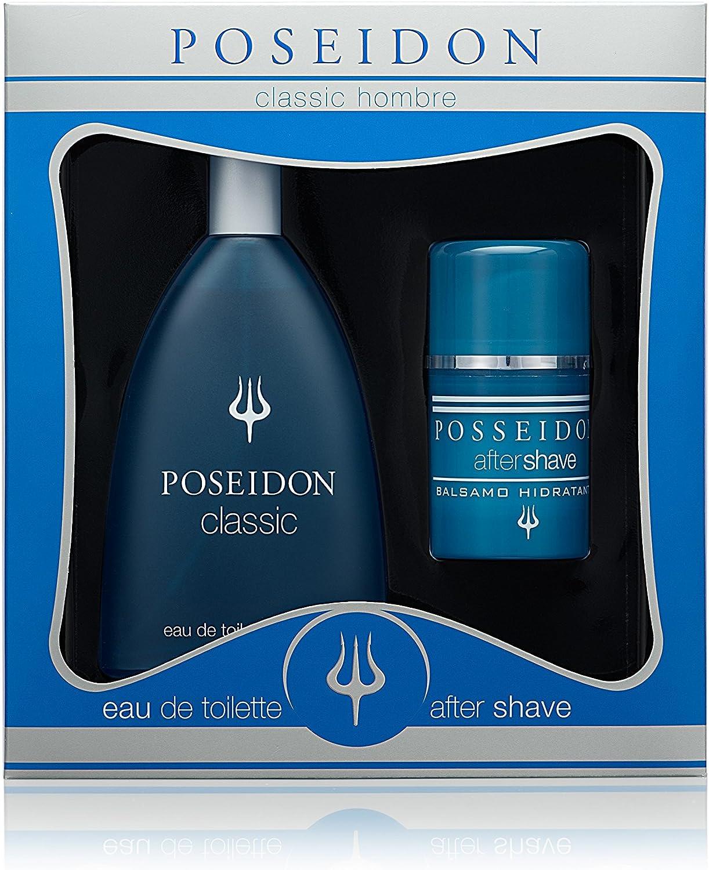 Poseidon Hombre Set de Belleza Edición Classic - Eau de Toilette, After Shave: Amazon.es: Belleza