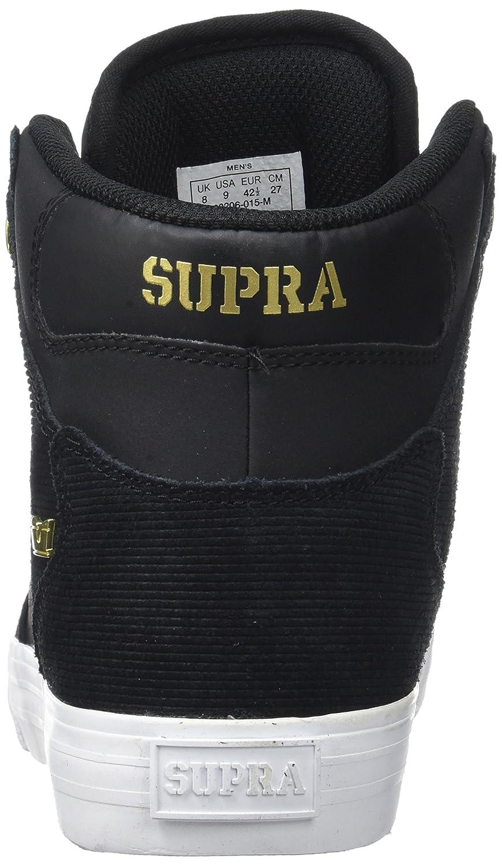 Supra Vaider M LC Sneaker B06XXR54FK 9 M Vaider US Women / 7.5 M US Men|Black/Gold/Gold/White 7f5cba