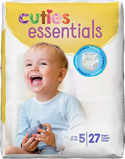 Cuties Disposable Baby Diapers by First Quality