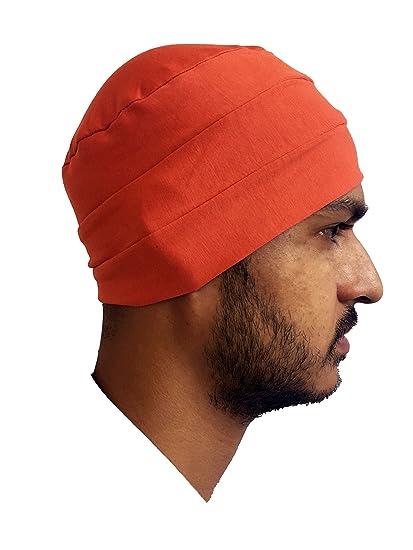 Attitude Red Chemo Beanies Men Cancer Caps Summer Cotton Chemo Caps ... 701cc517eea