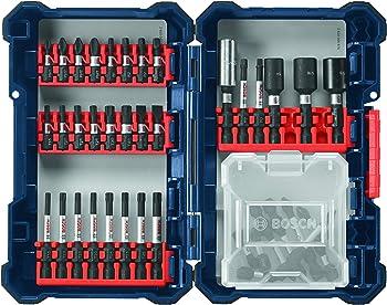 40-Piece Bosch Impact Tough Screwdriver Bit Set