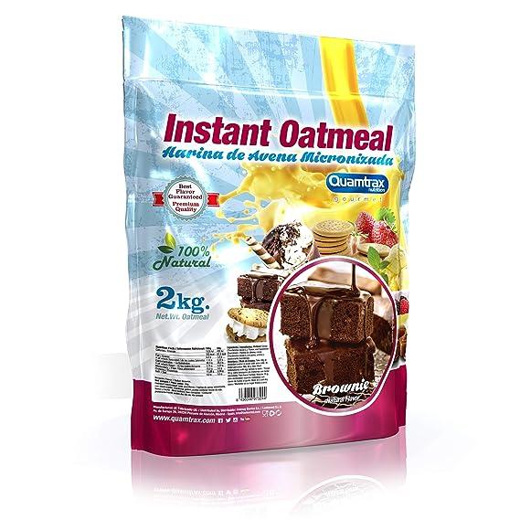 Quamtrax Nutrition Harina de avena micronizada - 2 kg