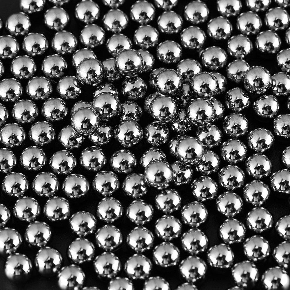 200 ST/ÜCKE 1//4 zoll Stahlkugeln G10 Pr/äzision Industrielagerstahlkugeln f/ür Hardware-werkzeuge Elektrische gie/ßlager Fahrr/äder Etc Lagerkugeln