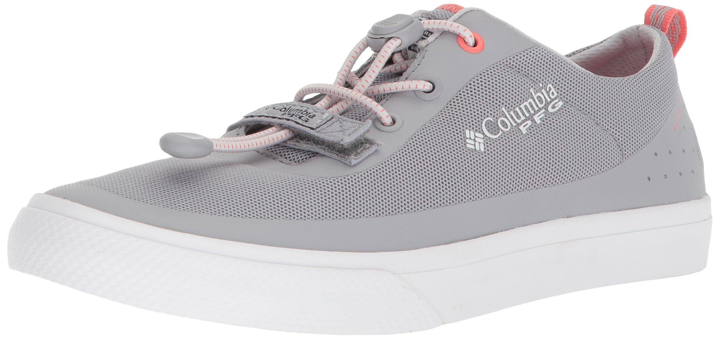 Columbia PFG Women's Dorado CVO PFG Sneaker, Steam, Melonade, 10.5 Regular US