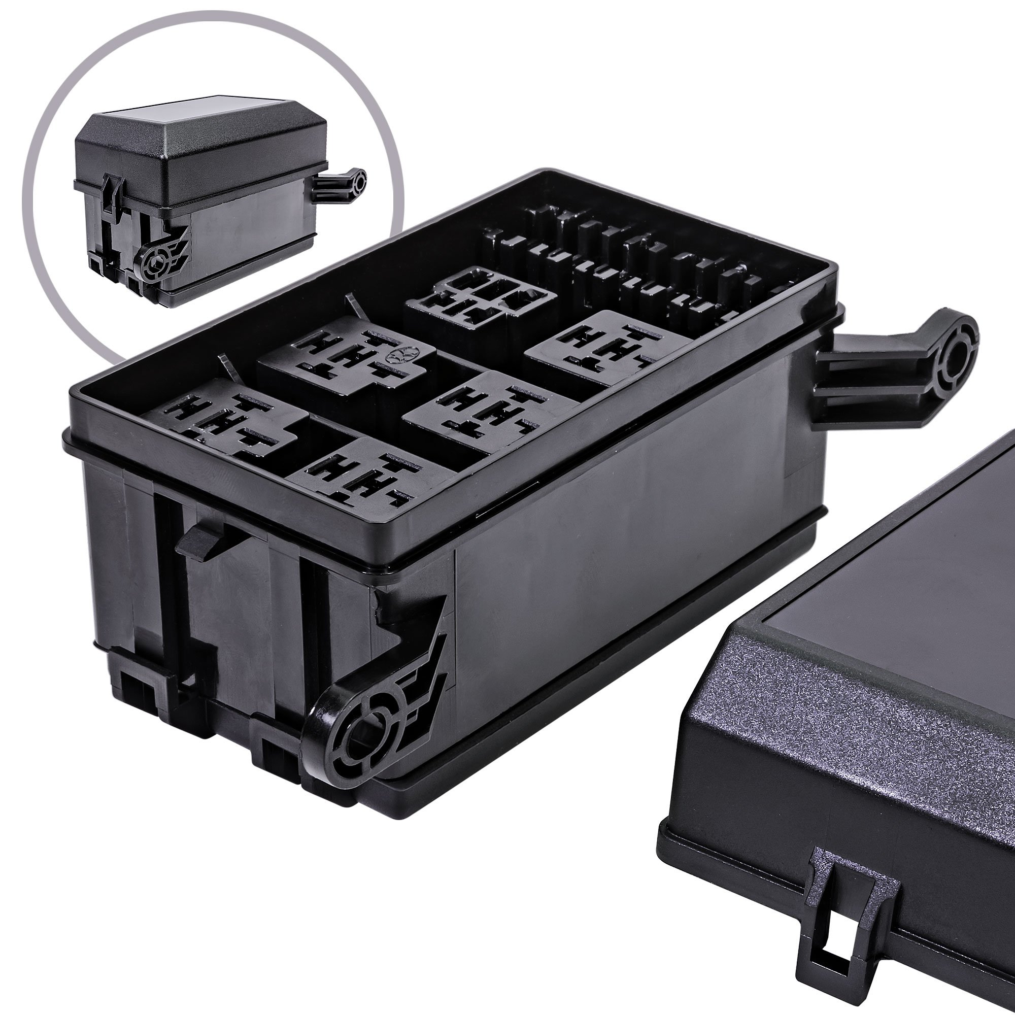 best rated in automotive replacement electrical system relaysonline led store 12 slot relay box [6 relays] [6 blade fuses