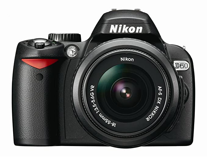 Nikon D60 DSLR Camera with 18-55mm f/3 5-5 6G Auto Focus-S Nikkor Zoom Lens