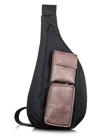 TOPERIN Crossbody Bags for Women Men Sling Bag Sling Backpack Shoulder Bag by