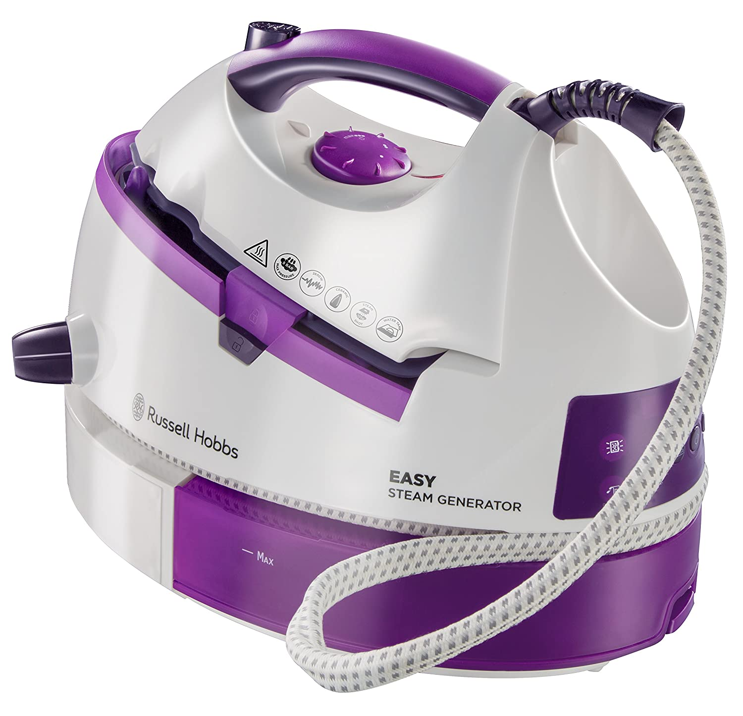 Russell Hobbs Easy Steam Generator Iron 2800 W White and