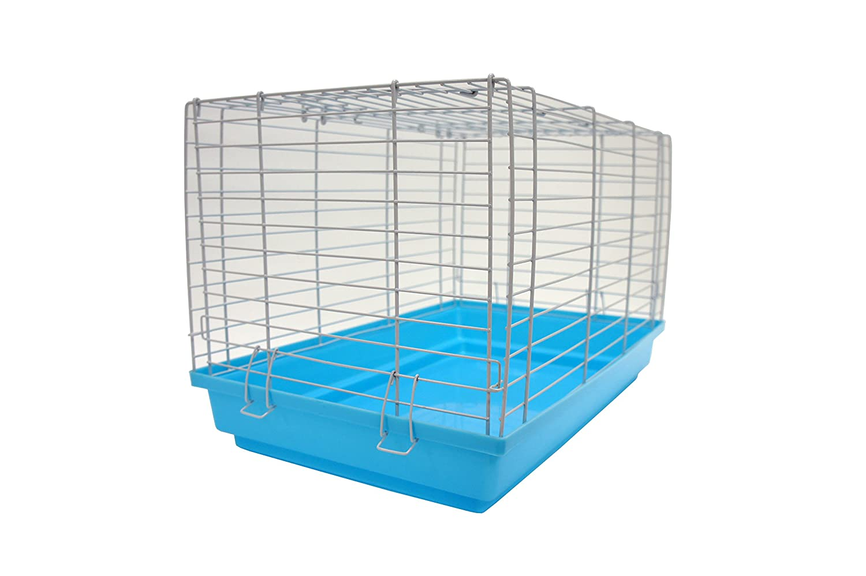 YML 18 Pulgadas Pequeño Animal Jaula Mascotas almacenaje, luz Azul ...