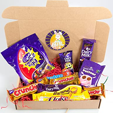 Cadbury easter chocolate treat box by moreton gifts amazon cadbury easter chocolate treat box by moreton gifts negle Image collections
