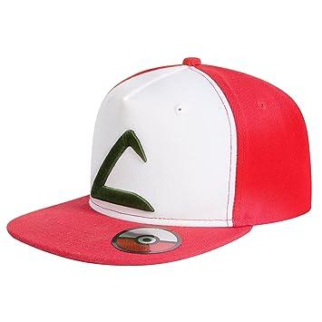 5ba19e33f85ce Katara - Pokémon GO Embroidered Ash Ketchum Snapback Base-Cap hat - Pokemon  League Expo hat  Amazon.co.uk  Sports   Outdoors
