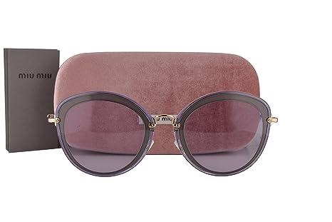 Miu Miu MU50RS Gafas de Sol Lila Arcilla con Lentes Lila ...