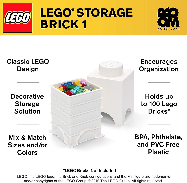 1x Homemaker Bookcase Bibliotheque 2x4x4 1 White//Blanc//Weiss Lego