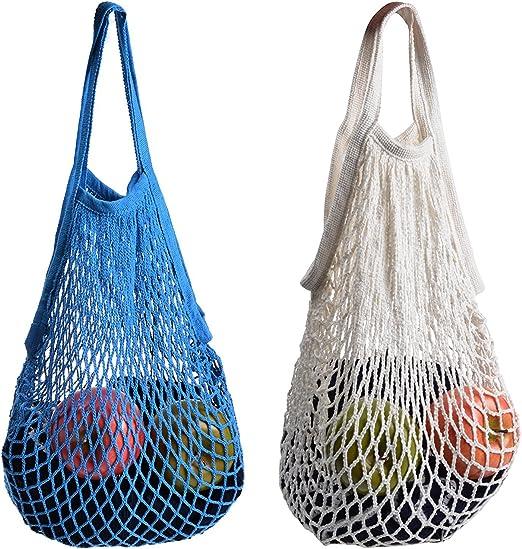 2 bolsas de red de Stonges organizadora para las compras, de ...