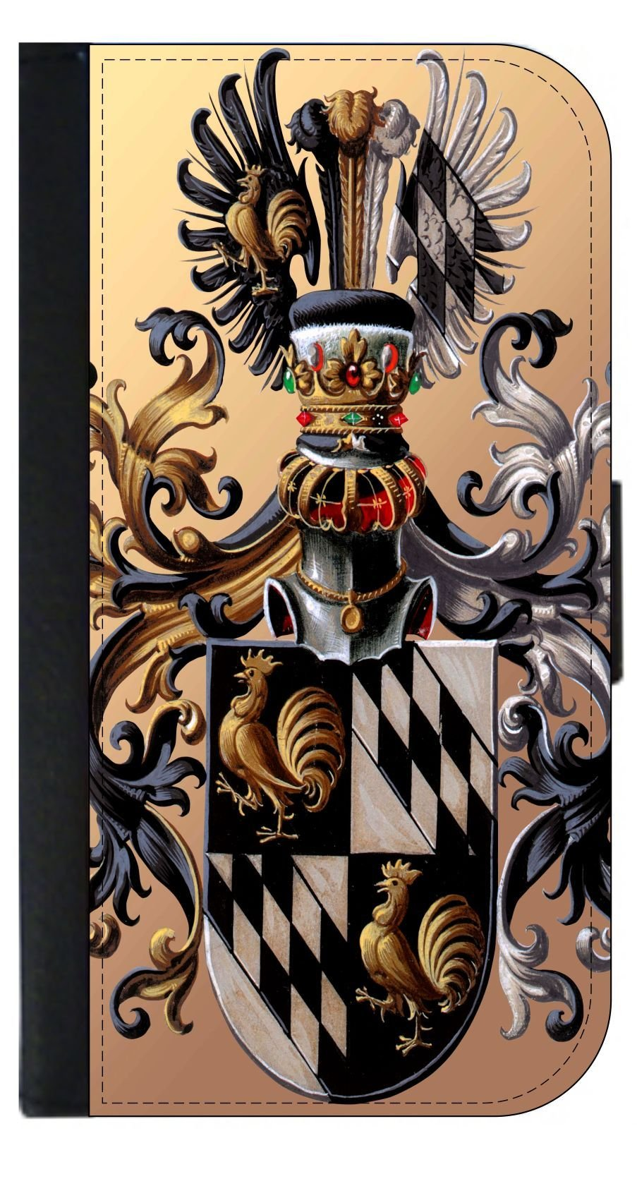 Coat of Arms - Passport Protector Case Cover / Card Holder for Travel