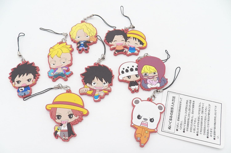 One Piece Sanji Rubber Phone Strap NEW