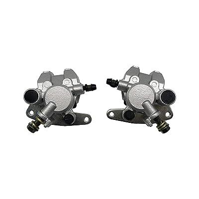SHUmandala Front Brake Caliper Replace for Yamaha YFM250 YFM350 YFM400 YFM450 YFM660/ Honda TRX250EX TRX300EX TRX400EX/ Suzuki Vinson 500 Eiger 400 5LP-2580T-00-00 3GD-2580T-01-00 4WV-2580T-00-00: Automotive