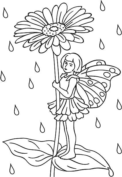 Darice Flower Fairy Embossing Folder