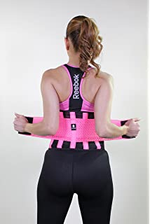 2674928d24 Amazon.com   Tecnomed Belt Fitness Body Shaper BLACK MEDIUM   Sports ...