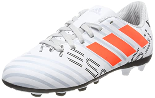 40c1a577ee6 adidas Nemeziz Messi 17.4 FxG Junior Football Boots - White-4