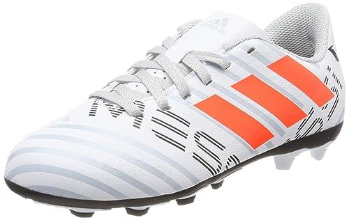 adidas Nemeziz Messi 17.4 FxG J, Botas de fútbol Unisex niños, (Ftwbla/Narsol/Gritra), 38 EU: Amazon.es: Zapatos y complementos